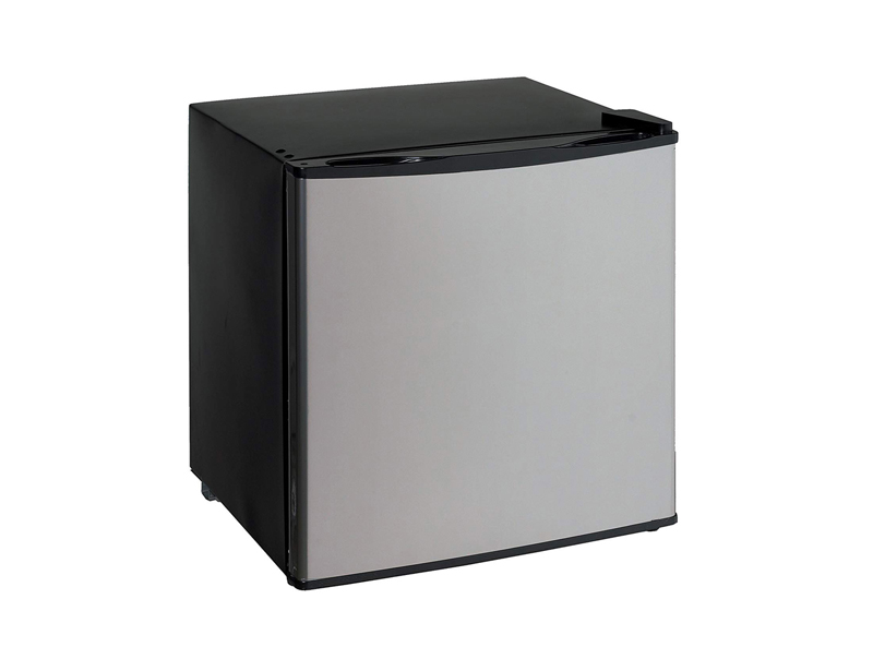 1.4 cu ft. Dual Function Refrigerator or Freezer, Black With Platinum Door
