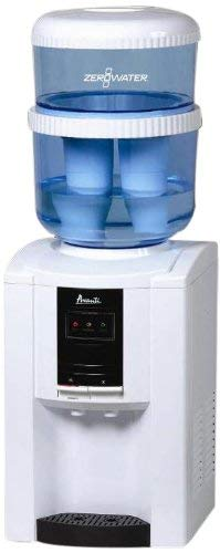 Tabletop water dispenser with ZeroWater Filtering Bottle System