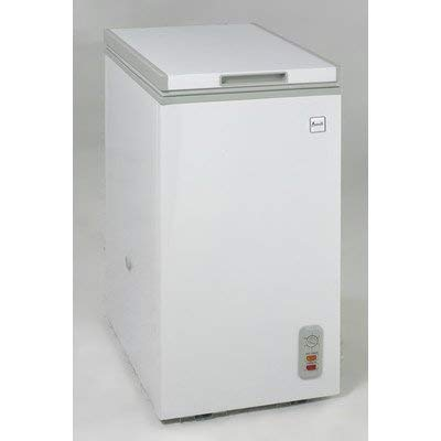 2.1 cu.ft. chest freezer, white