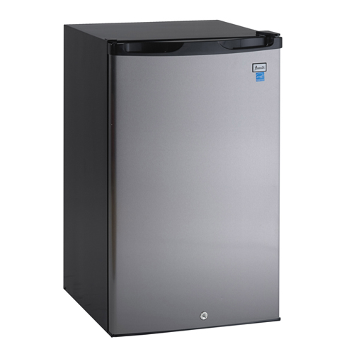 4.5 Cu. Ft. Counterhigh Refrigerator - Black with Stainless Door