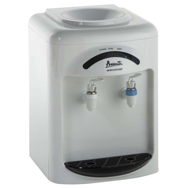 Cold & Room temperature water dispenser