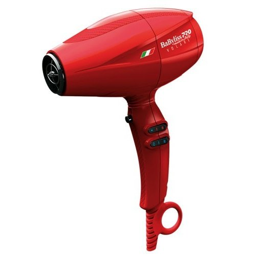 CONAIR BABFRV2 RED DRYER VOLARE V2  MID SIZE BABYLISS PRO