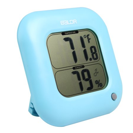 BALDR TH0323BU1 BLUE THERMO HYGROMETER WITH TEMPERATURE