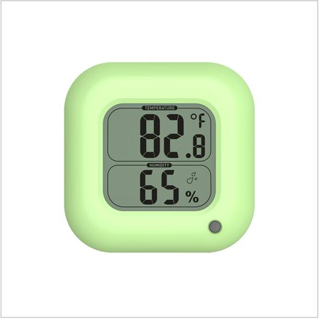 BALDR TH0323GR1 GREEN  THERMO HYGROMETER WITH TEMPERATURE