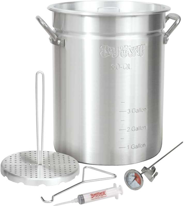 30-Quart Aluminum Turkey Fryer
