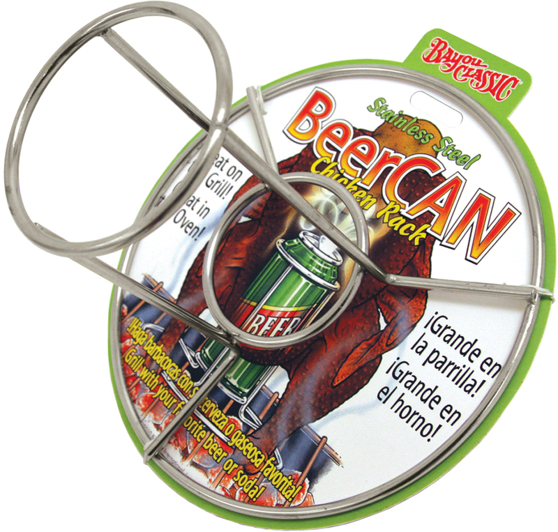 0880-CS BEERCAN CHICKEN RACK