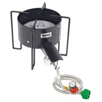 Banjo Bayou Classic KAB4 Gas Cooker With Hose Guard, LPG, Steel Frame