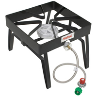 Barbour Bayou Classic SQ14 High Pressure Gas Stove, LPG, Steel Frame