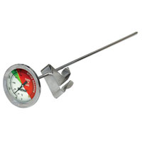 Bayou Classic 5020 Deep Fry Analog Thermometer, 750 deg F, 5 in Diameter