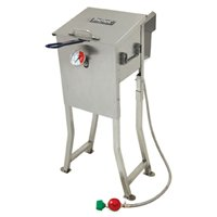 Bayou Classic 2.5-Gallon Stainless Outdoor Fryer