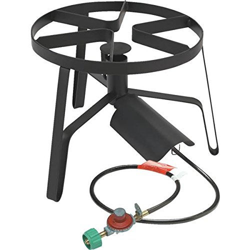 Outdoor Jet Cooker With Hose Guard & Flame Spreader
