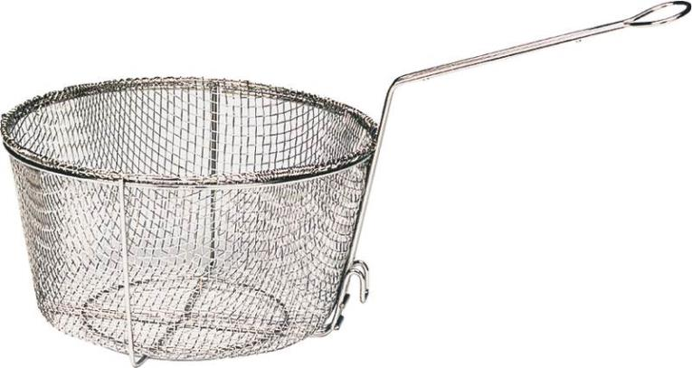 Barbour Bayou Classic Fry Basket With Drain Hook 11-1/2 in W x 5 in H