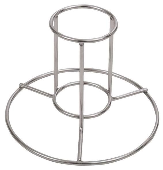 Barbour 0880PDQ Chicken Rack, 12 oz Beer Can, Stainless Steel