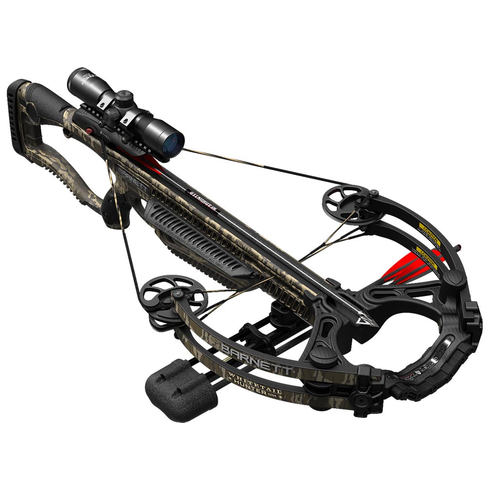 Barnett WHITETAIL HUNTER-STR Crossbow with Scope & Rope Cocking Device