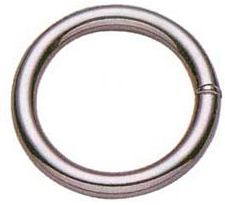 Baron 7-1-1/2 Breech Welded Ring, NO 7, 1-1/2 in Dia