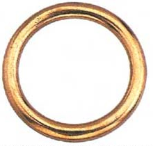 WELDED RING BRONZE NO7B 2 IN