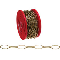 Baron 7113 Cathedral Chain, NO 31 X 98 ft, Brass