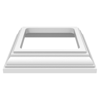TRIM BASE HERITAGE WHITE 4X4IN