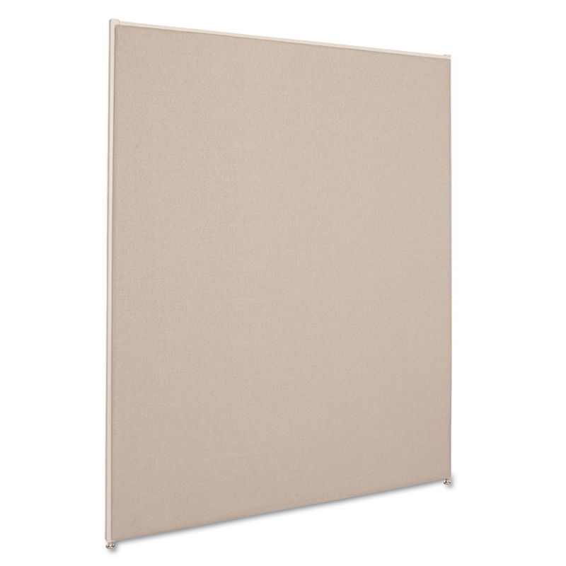 Vers� Office Panel, 48w x 60h, Gray