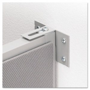 Vers� Quick Connect Wall Mount Connecting Hardware, Gray
