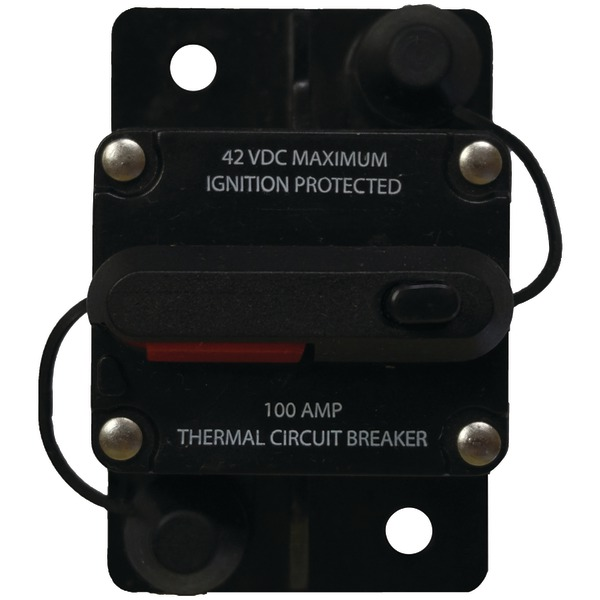 Battery Doctor 31202 Manual-Reset Circuit Breaker (100 Amps)