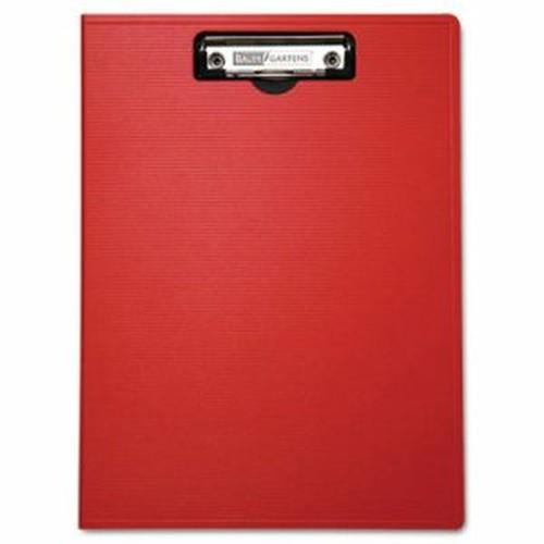 "Portfolio Clipboard With Low-Profile Clip, 1/2"" Capacity, 8 1/2 x 11, Red"