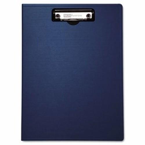 "Portfolio Clipboard With Low-Profile Clip, 1/2"" Capacity, 8 1/2 x 11, Blue"