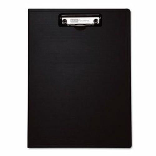 "Portfolio Clipboard With Low-Profile Clip, 1/2"" Capacity, 8 1/2 x 11, Black"