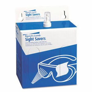 "Sight Savers Lens Cleaning Station, 6 1/2"" x 4 3/4"" Tissues"
