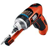 BLACK+DECKER LI4000 4-Volt MAX* Lithium Screwdriver with Screw Holder