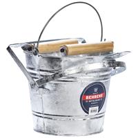 Behrens 412W Mop Wringer Bucket, 12 qt Capacity, 17-1/2 in L x 13-1/2 in W x 11 in H