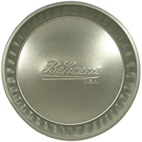 Behrens 2166 Seamless Utility Pan, 1 gal, Steel