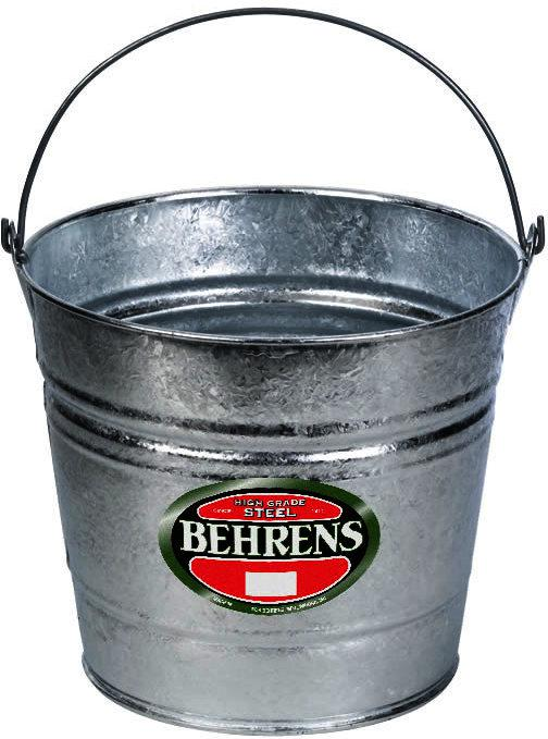 10 Quart Steel Pail