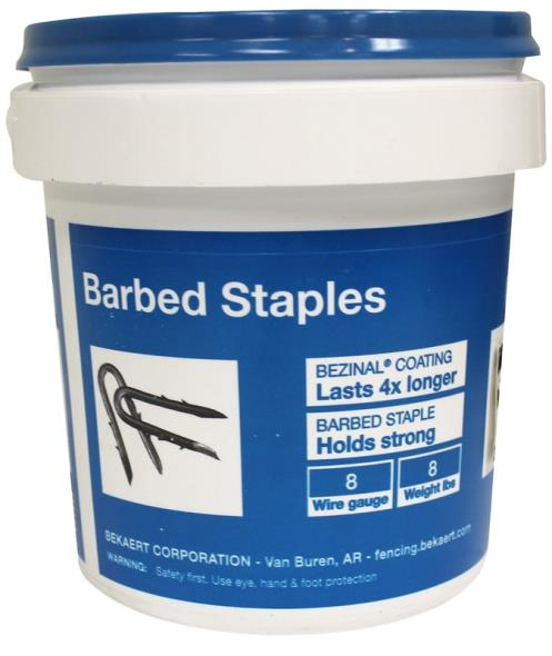 STAPLE BBD FENCE 8G 8LB 1.75IN