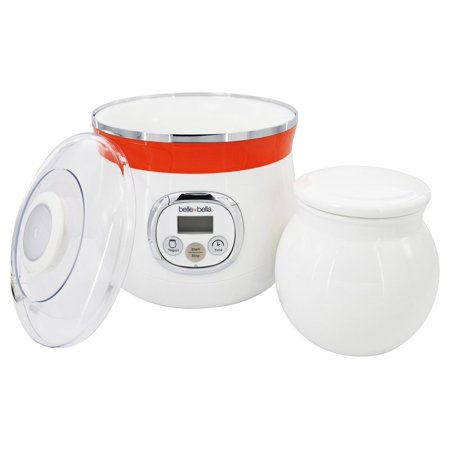 BELLEBELLA 9003 AUTOMATIC YOGURT MAKER WITH BONUS YOGURT