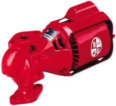 BELL & GOSSETT 2NFI CAST IRON CIRCULATOR PUMP 115V 1725RPM