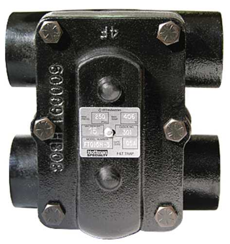 HOFFMAN FT015H-3 F&T STEAM TRAP 3/4 IN., 15 PSI