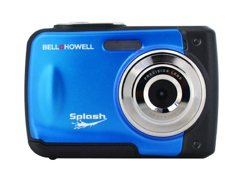 BELL+HOWELL WP10-BL 12.0-Megapixel WP10 Splash Waterproof Digital Camera (Blue)