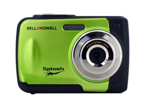 BELL+HOWELL WP10-G 12.0-Megapixel WP10 Splash Waterproof Digital Camera (Green)