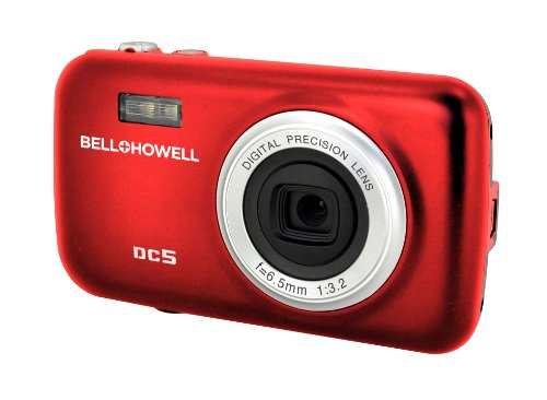 BELL+HOWELL DC5-R 5.0-Megapixel Fun Flix Kids Digital Camera (Red)