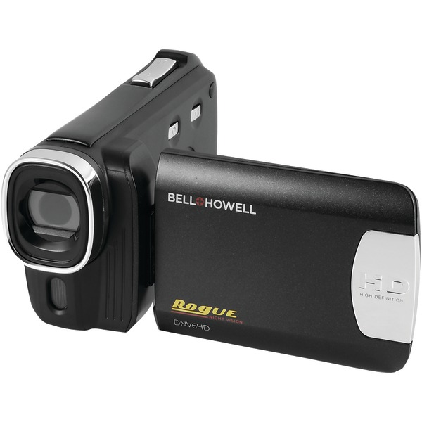 BELL+HOWELL DNV6HD-BK 20.0-Megapixel Rogue DNV6HD 1080p IR Night-Vision Camcorder