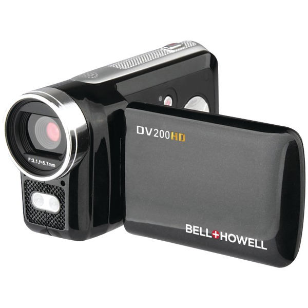 BELL+HOWELL DV200HD 5.0-Megapixel DV200HD 720p HD Digital Video Camcorder
