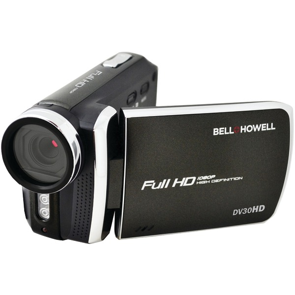 Bell+Howell DV30HD-BK 20.0-Megapixel 1080p DV30HD Fun Flix Slim Camcorder (Black)