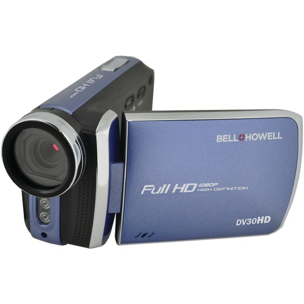 Bell+Howell DV30HD-BL 20.0-Megapixel 1080p DV30HD Fun Flix Slim Camcorder (Blue)