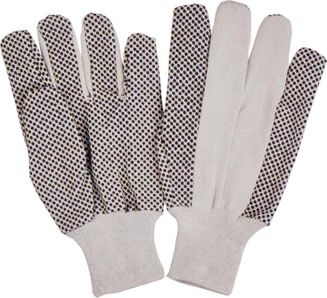 Homebasix GV-522PVD/8 Gloves, One Size Fits All, Cotton, Black