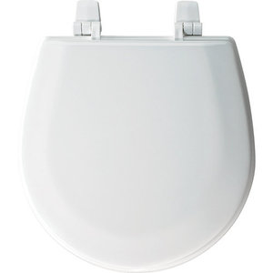 Marine Bowl Wood Closet Seat White