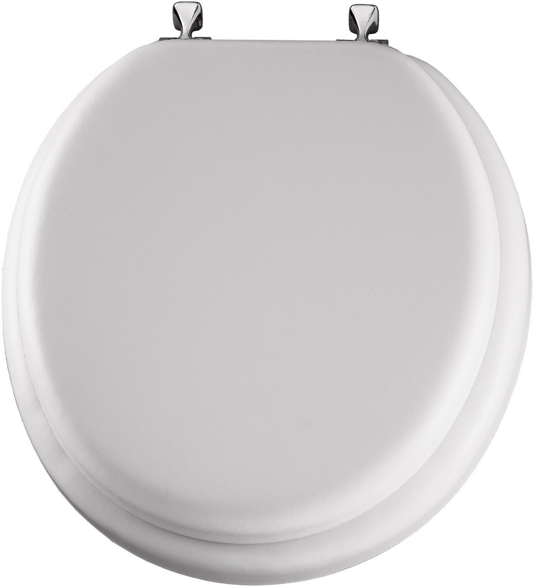 WHITE DELUXE SOFT TOILET SEAT