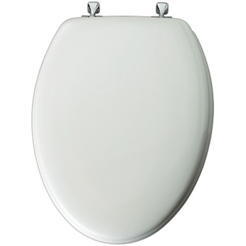 144CP000 WHITE ELONGATED TOILET SEAT