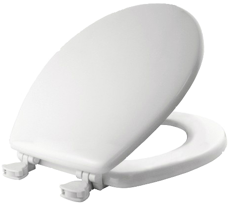 44ECA000 WH WOOD TOILET SEAT