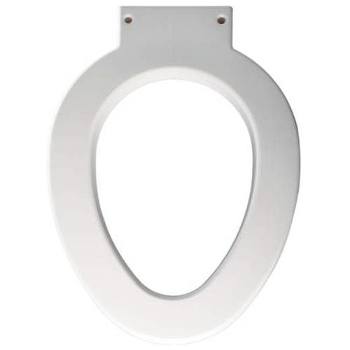 Bemis Institutional 4 In. Lift Elongated Toilet Seat, White